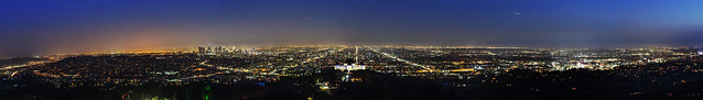 Los Angeles Downtown Panorama..