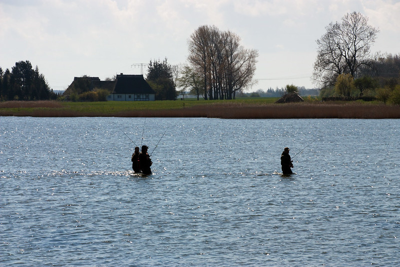 anglers on rügen