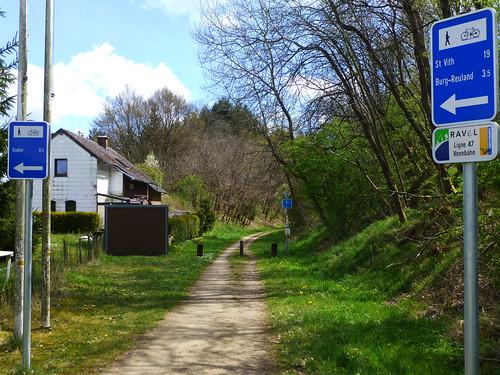 Vennbahn Radweg Luxemburg-Aachen