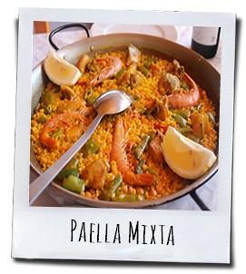 Paella is wel het meest bekende gerecht uit Spanje, dat oorspronkelijk uit de regio Valencia komt