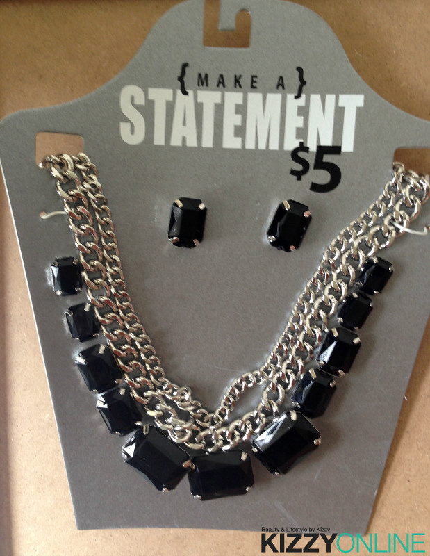 Make a Statement Necklace Earrings