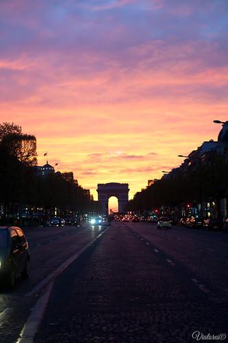 Av. des Champs-Élysées. Paris. France