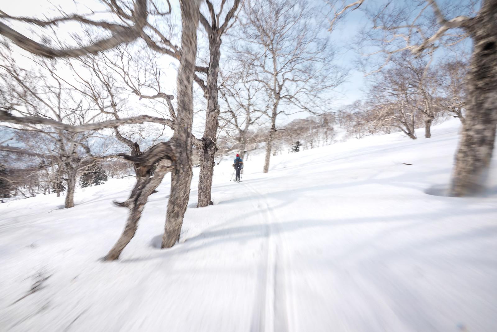 Mt. Yoichi descent (Hokkaido, Japan)