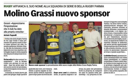 Gazzetta di Parma 13.10.16