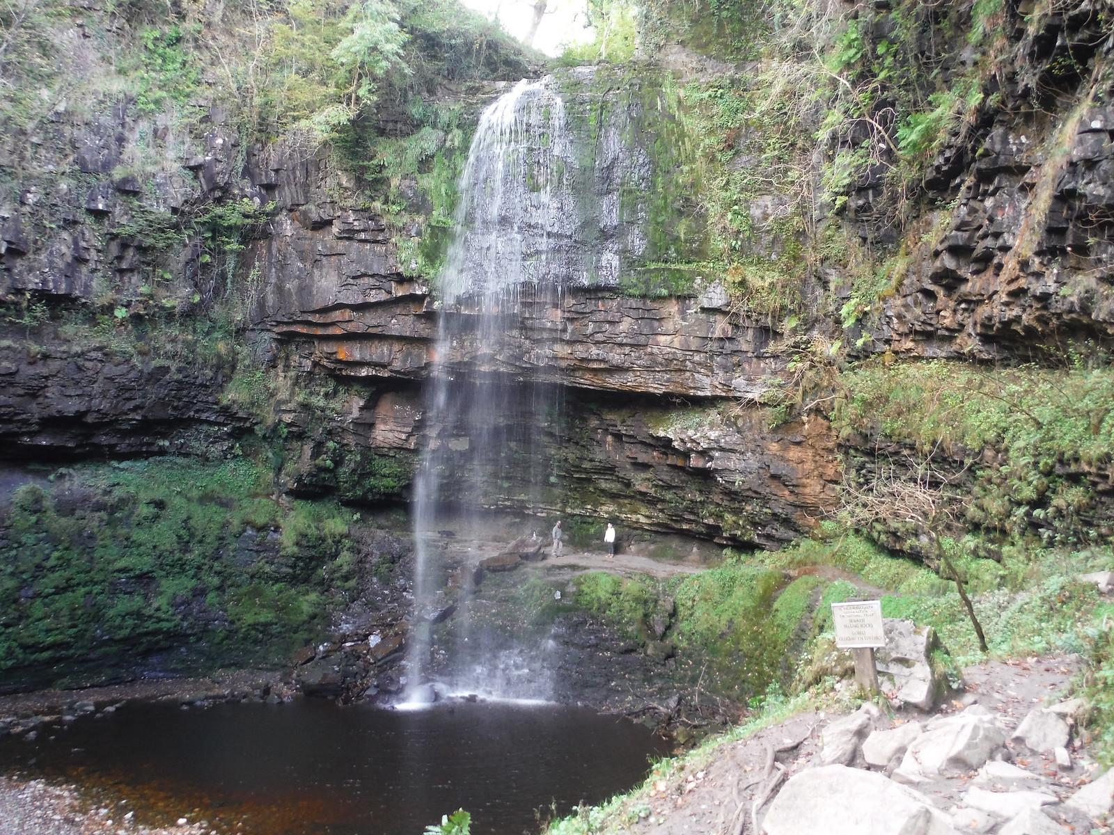 Sgwd Henrhyd and its Plunge Pool SWC Walk 280 Henrhyd Falls - Sgwd Henrhyd (Craig y Nos Circular)