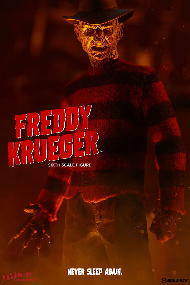 夢魘再度降臨!Sideshow - 《半夜鬼上床》1/6 比例佛萊迪·庫格 A Nightmare on Elm Street Freddy Krueger