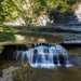 little waterfall at Stony Brook Park by melike erkan