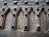 Gothic door (year 1406) - Palace Penna in Naples