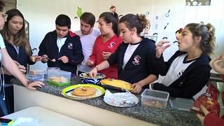 Aula de Espanhol: comidas típicas - 2ª série EM (nov/16)