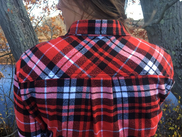 Simplicity 1538 in Robert Kaufman Mammoth Flannel