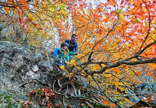 درحال آموزش فرود از صخره  Photo by: mmkarima  #حوصلهاونهمههشتگروندارم