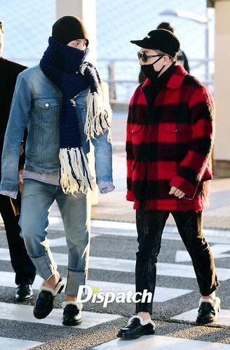 BIGBANG departure Seoul to Nagoya 2016-12-02 (1)