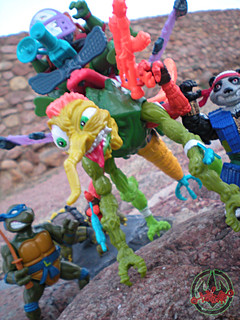 """MEGA MUTANTS"" TEENAGE MUTANT NINJA TURTLES :: NEEDLENOSE xxxiii (( 1990 ))"
