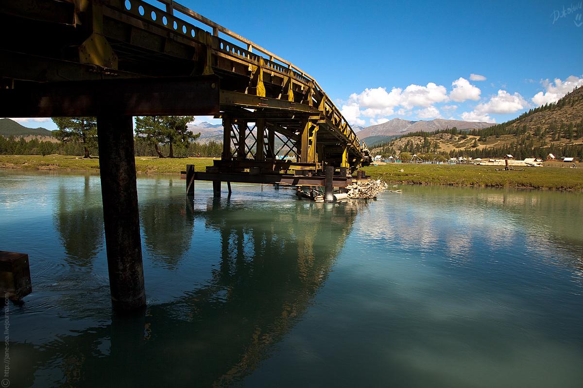 мост через реку Джазатор