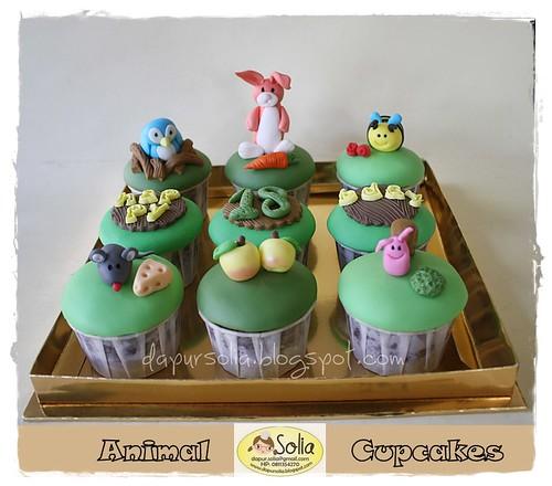 01 Animal Cupcakes