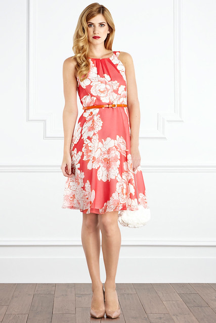 suzy printed dress