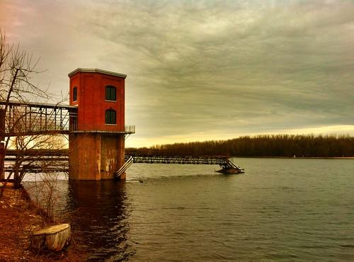 river day cloudy quebec borealis troisrivières project365 365project iphone4 rivièresaintmaurice