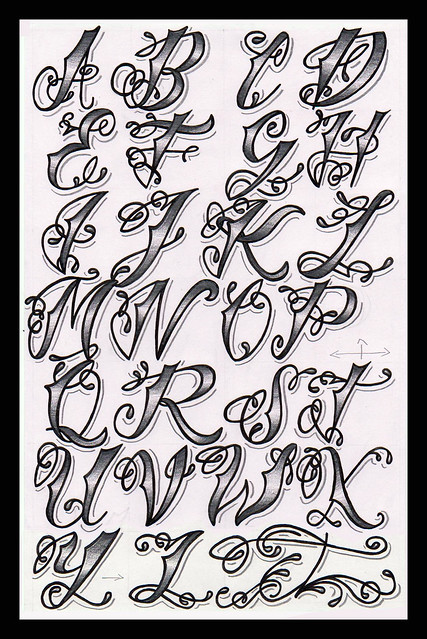 Bj betts lettering guide 4