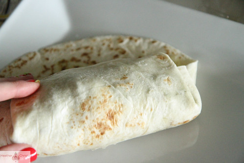 Monster Breakfast Burrito