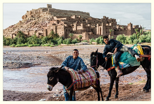 Ait Benhaddou watertaxi