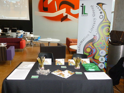 Information Literacy Group stand