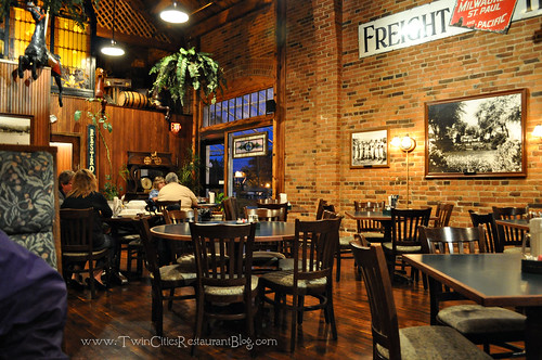 Dining Room at Freight House ~ Stillwater, MN