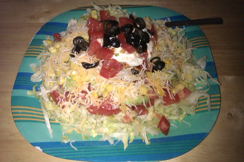 I made tacko salad by christopher575