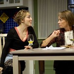 Geneva Carr and Maureen Anderman in Huntington Theatre Company's Rabbit Hole at the Boston University Theatre. Part of the 2006-2007 season. Photo: Eric Antoniou.