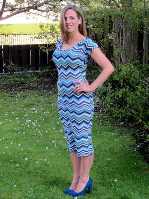 missoni dress side