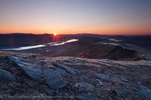 snow mountains cold sunrise dawn scotland spring highlands frost scottish frosty highland munro achnasheen fannichs fionnbheinn