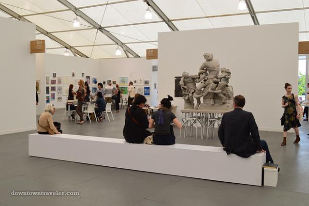 2012 Frieze New York City Art Fair Spectators