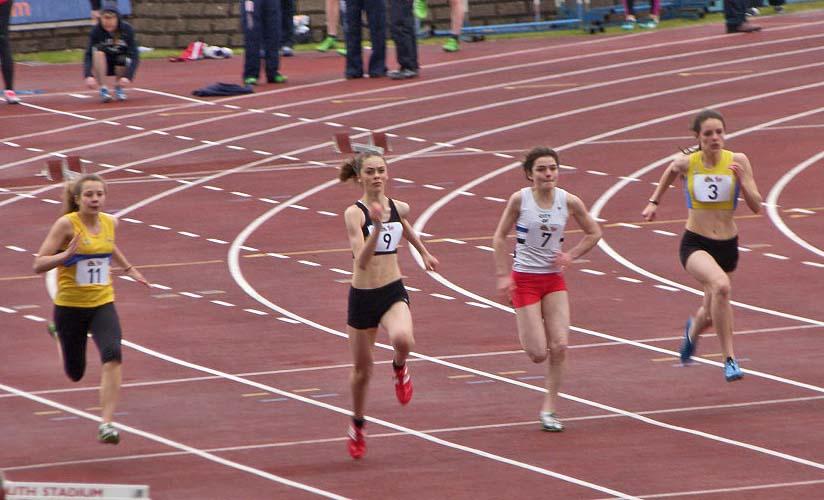 Selina 12.05sec 100m