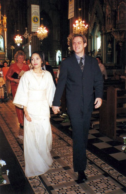 Jeroen and I, November 25, 2000