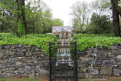 Iron gate and rock wall, Glen Burnie, Winchester