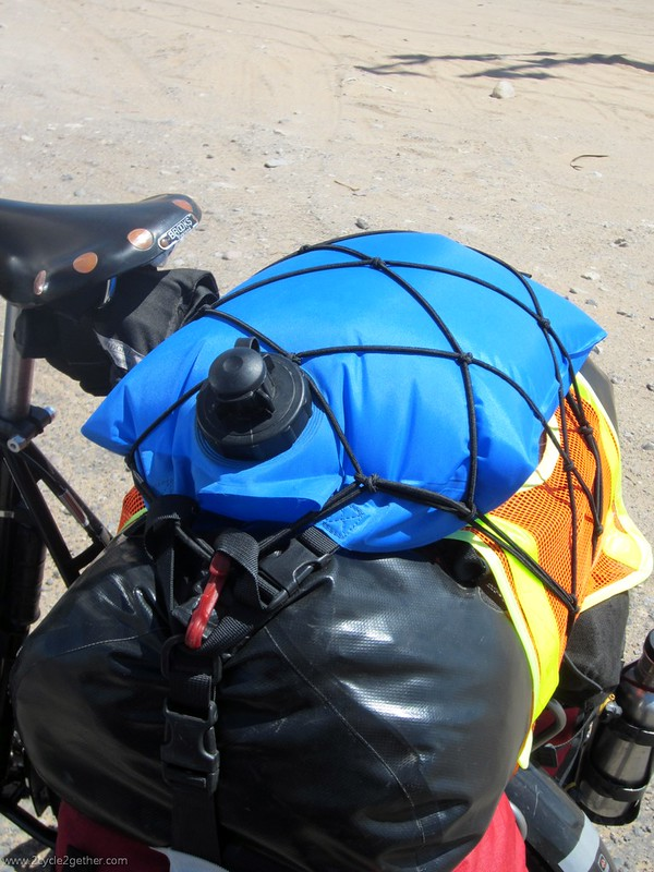 Ortlieb 10L Bag, filled with potable water