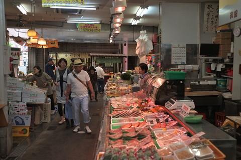 長崎市北部の住吉商店街