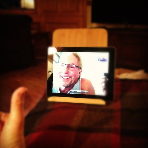 Day 207 of Project 365: Father's Day FaceTime