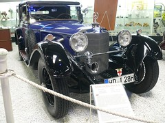 Mercedes-Benz 680 S 1929 blue vr