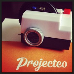 My Projecteo arrived! #kickstarter