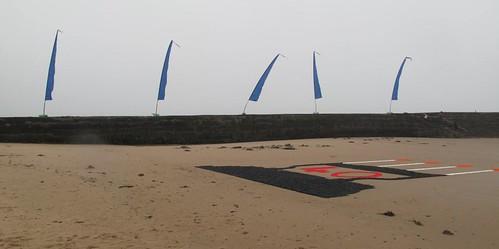 Iron on the beach