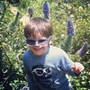 Roaming the hillsides, wearing dad's shades #boy #fouryearsold #garden #latergram