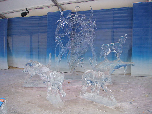Winterlude Ice Sculpture - 1