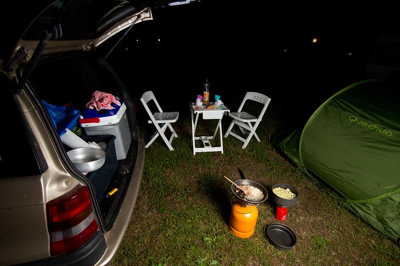 Camping @Lago de Bolsena