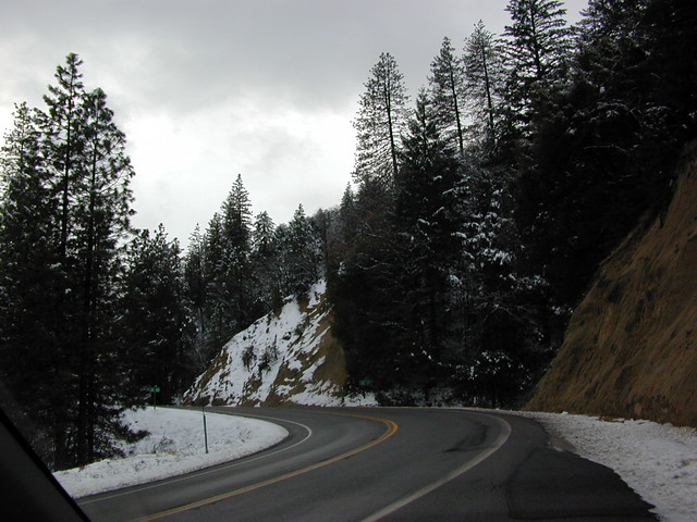 California Highway 299 (East of Weaverville)