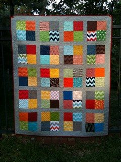 Britton's finished quilt