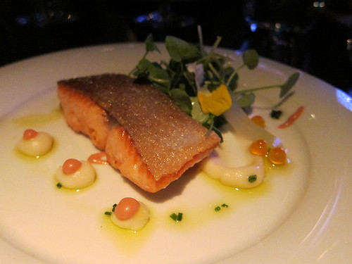 sea trout watercress