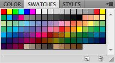 Панель Swatches в Фотошоп