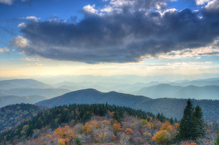 Cowee Mountain Overlook, Blue Ridge Parkway | by Mountain Photo Gallery