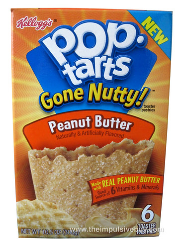 REVIEW: Pop-Tarts Gone Nutty! Peanut Butter - The ...
