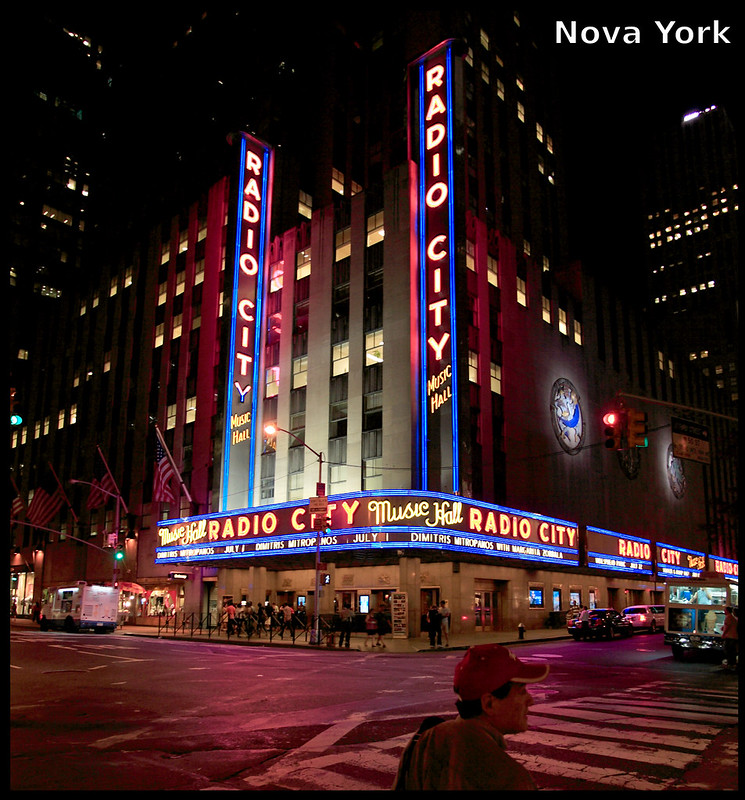 Radio City Music Hall - Nova York